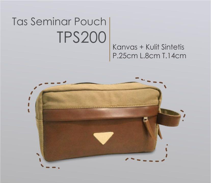 souvenir seminar dompet besar bahan kanvas